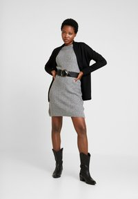 Anna Field - Strikket kjole - dark grey marl - 2