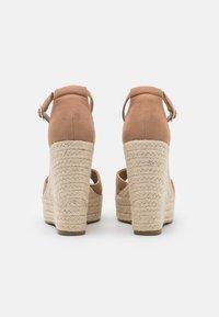 Tata Italia - Platform sandals - taupe - 3