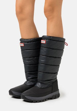 WOMENS ORIGINAL INSULATED TALL - Winter boots - black