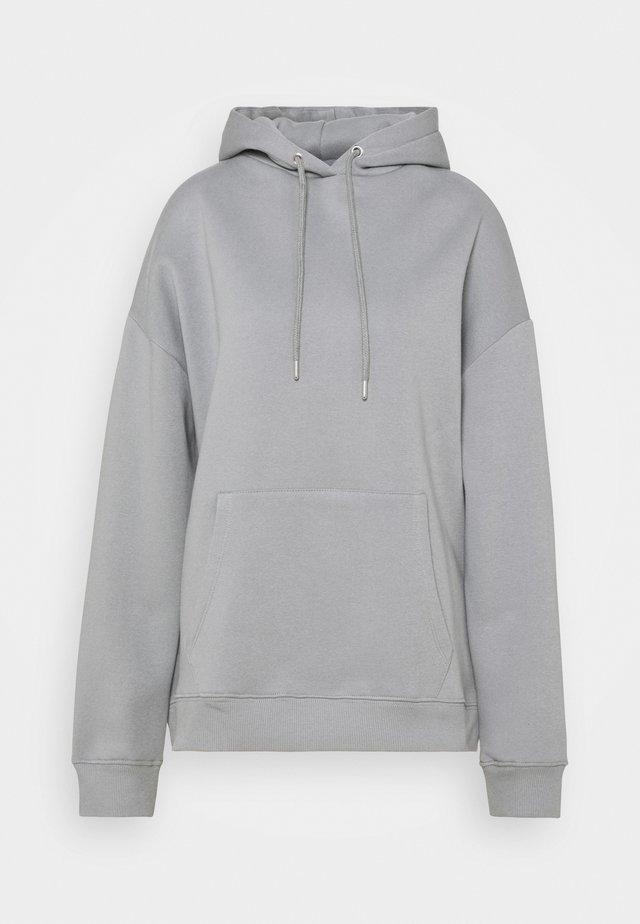 OVERSIZED HOODIE - Hoodie - gray/blue