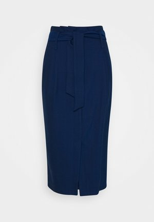 SKIRT - Gonna a tubino - blue