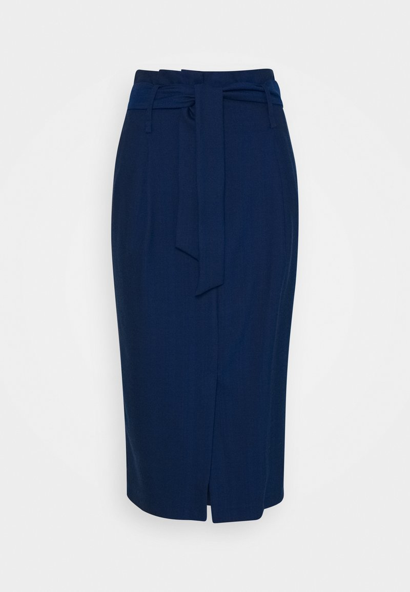 Sisley - SKIRT - Pencil skirt - blue