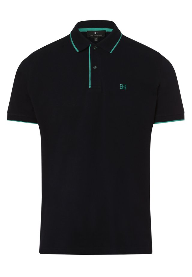 Polo shirt - metallic black