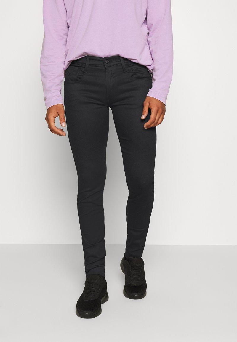 Replay - ANBASS HYPERFLEX RE-USED - Jeans Skinny - black