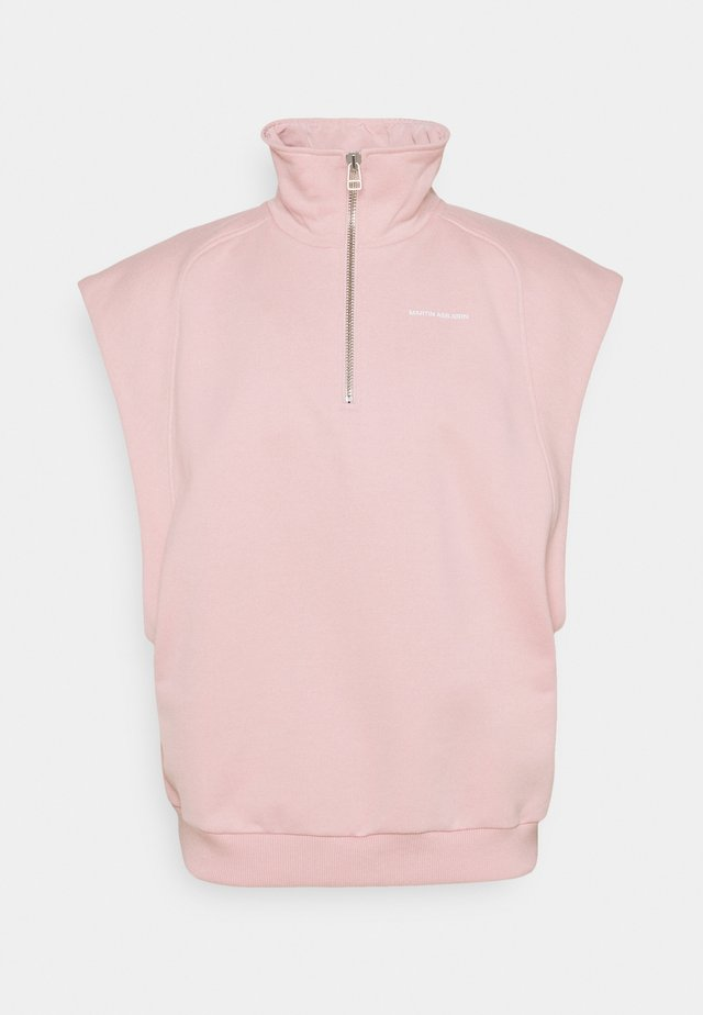 CAMERON TURTLENECK - Print T-shirt - silver pink