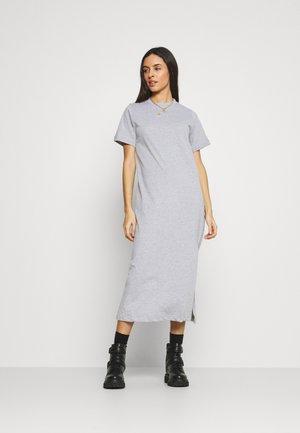 BASIC DRESS MIDI - Maxi dress - grey marl