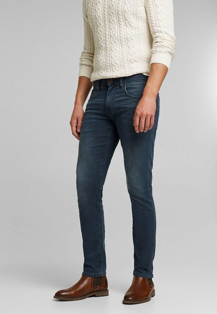 Esprit - Slim fit jeans - blue medium washed