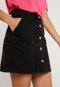 Even&Odd - Denim skirt - black - 3