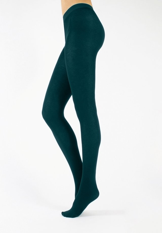Tights - teal