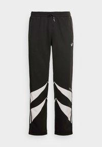 SHARK PANTS - Pantaloni sportivi - black/grey one