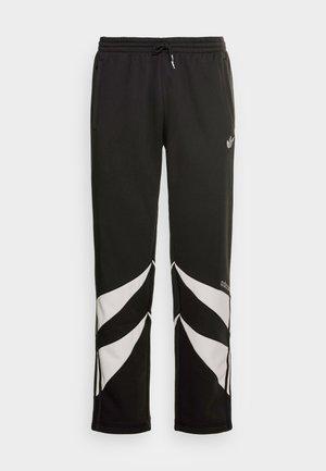 SHARK PANTS - Tracksuit bottoms - black/grey one