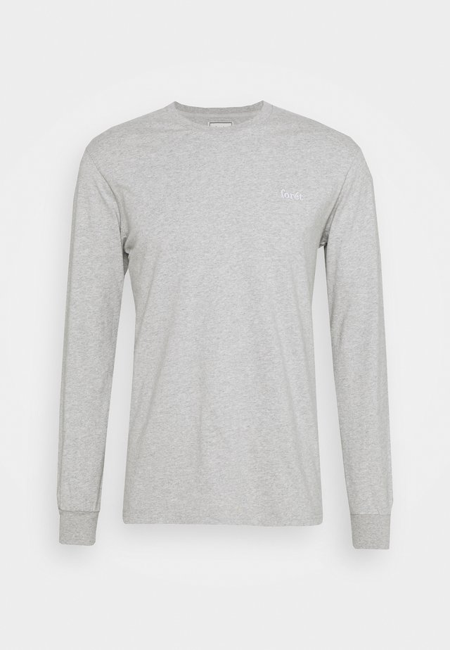 WIND LONGSLEEVE - Long sleeved top - light grey melange