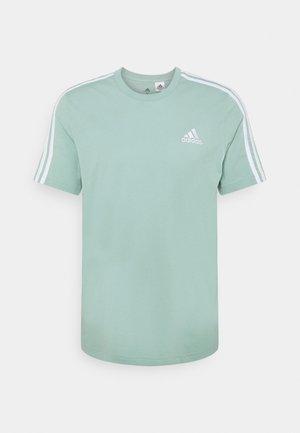 T-shirt med print - haze green