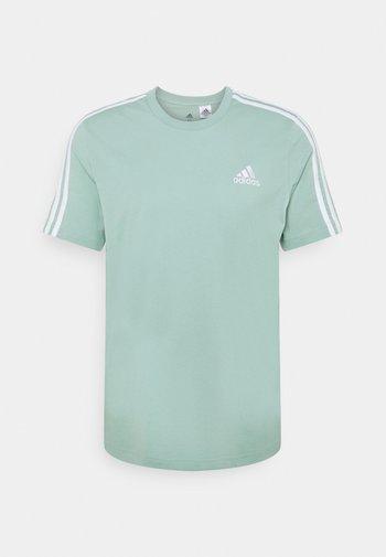 Print T-shirt - haze green