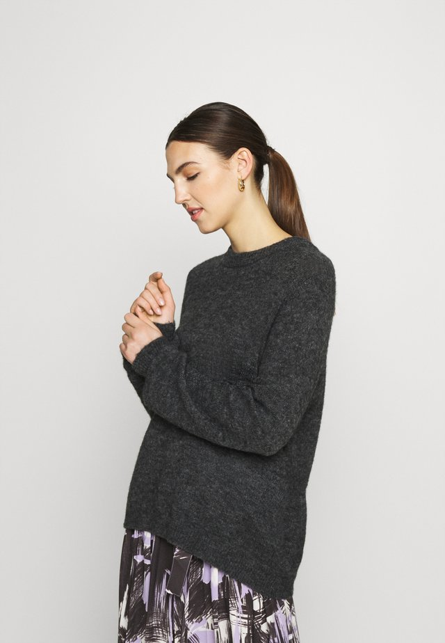 HELANOR - Jumper - charcoal melange