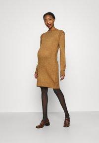 Supermom - DRESS - Stickad klänning - toasted coconut - 2