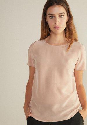Basic T-shirt - rosa - tea rose