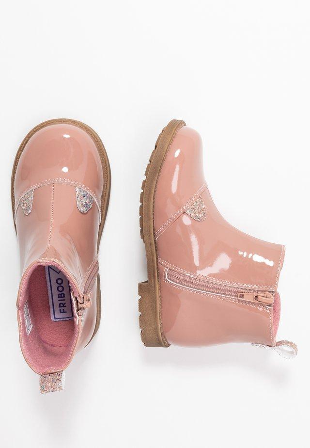 Bottines - pink