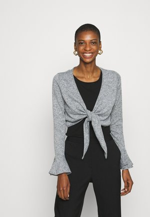 SOFT WRAP - Gilet - grey