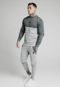 SIKSILK - TECH TRACK PANTS - Tracksuit bottoms - grey - 1