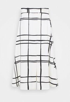 GIUBBA - Áčková sukně - bianco lana