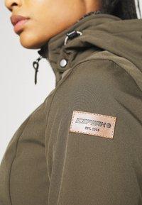 Icepeak - UHRICHSVILLE - Soft shell jacket - dark olive - 5