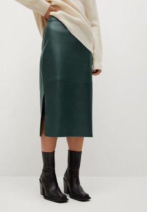 PENCIL-I - A-line skirt - vert foncé