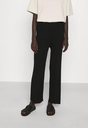 ELISABET TROUSER - Kalhoty - black