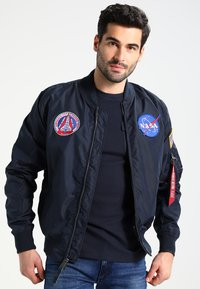 Alpha Industries - NASA REVERSIBLE II - Bomberjacka - blue - 0