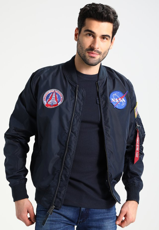 NASA REVERSIBLE II - Bomber bunda - blue