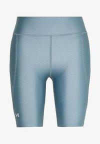 Under Armour - GRAPHIC BIKE SHORTS - Legging - hushed turquoise/halo gray/halo gray - 0