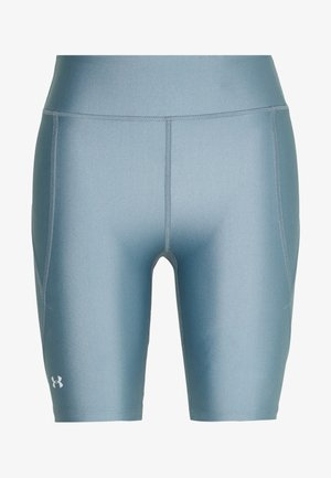 GRAPHIC BIKE SHORTS - Legging - hushed turquoise/halo gray/halo gray