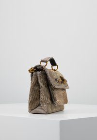 Kurt Geiger London - FABRIC CHELSEA BAG - Håndtasker - balck/brown - 3