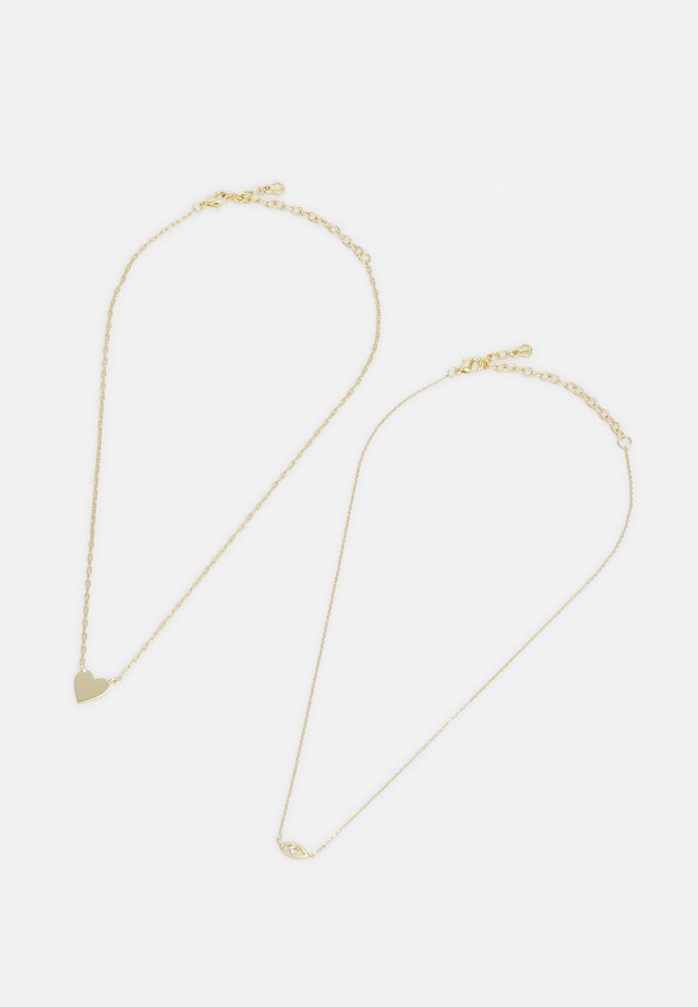 2 PACK - Necklace - gold-coloured