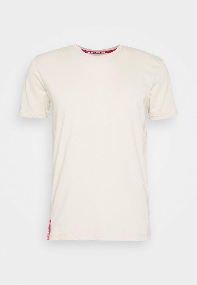 Camiseta estampada - vintage white