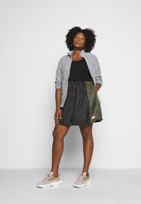 Nike Sportswear - SKIRT - A-line skirt - black/twilight marsh - 1