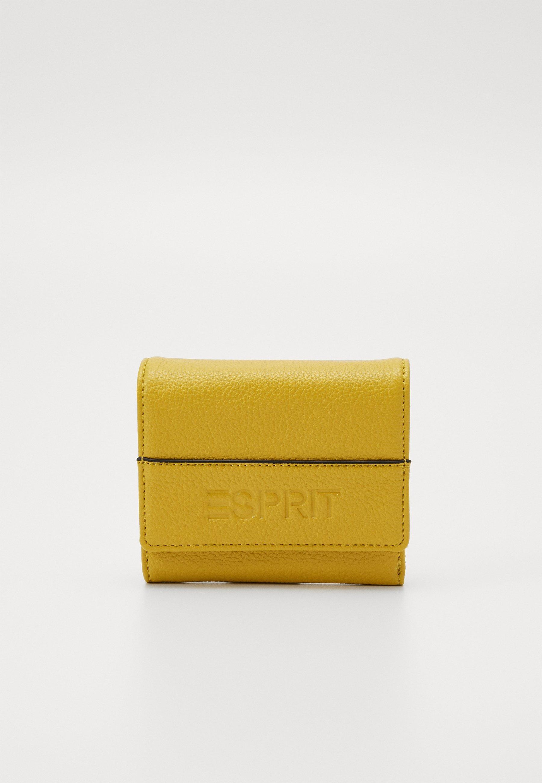 ESPRIT Fargo City Wallet Geldbörse Yellow Gelb Neu