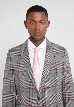 TIE - Krawat - pastel pink