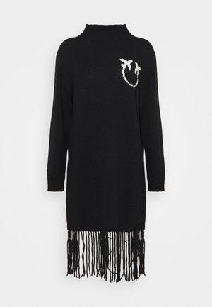 CRIOGENIA DRESS - Robe pull - black