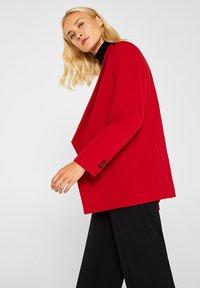 Esprit Collection - MIT NEUEM SMOKING - Blazer - dark red - 3