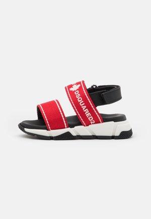 UNISEX - Sandals - red