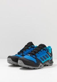 adidas Performance - TERREX AX3 - Hiking shoes - glow blue/legend ink/shock cyan - 2