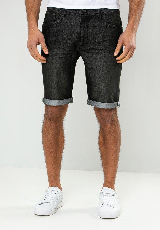 SHAWN  - Shorts di jeans - schwarz