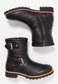 Panama Jack - FELINA IGLOO TRAVELLING - Cowboy/biker ankle boot - black - 3