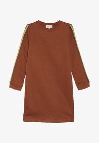 Kids ONLY - KONBETTY TAPE DRESS  - Vardagsklänning - ginger bread - 2