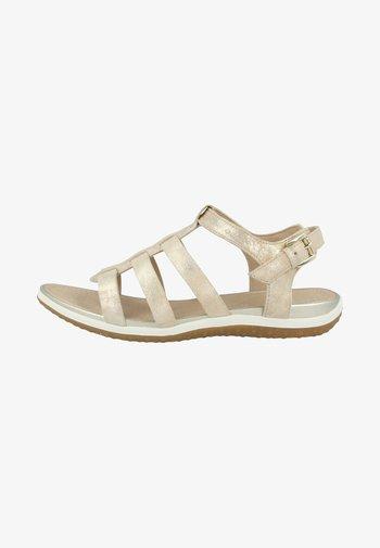 VEGA - Ankle cuff sandals - sand