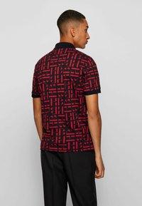 BOSS - PHILLIPSON - Print T-shirt - black - 2