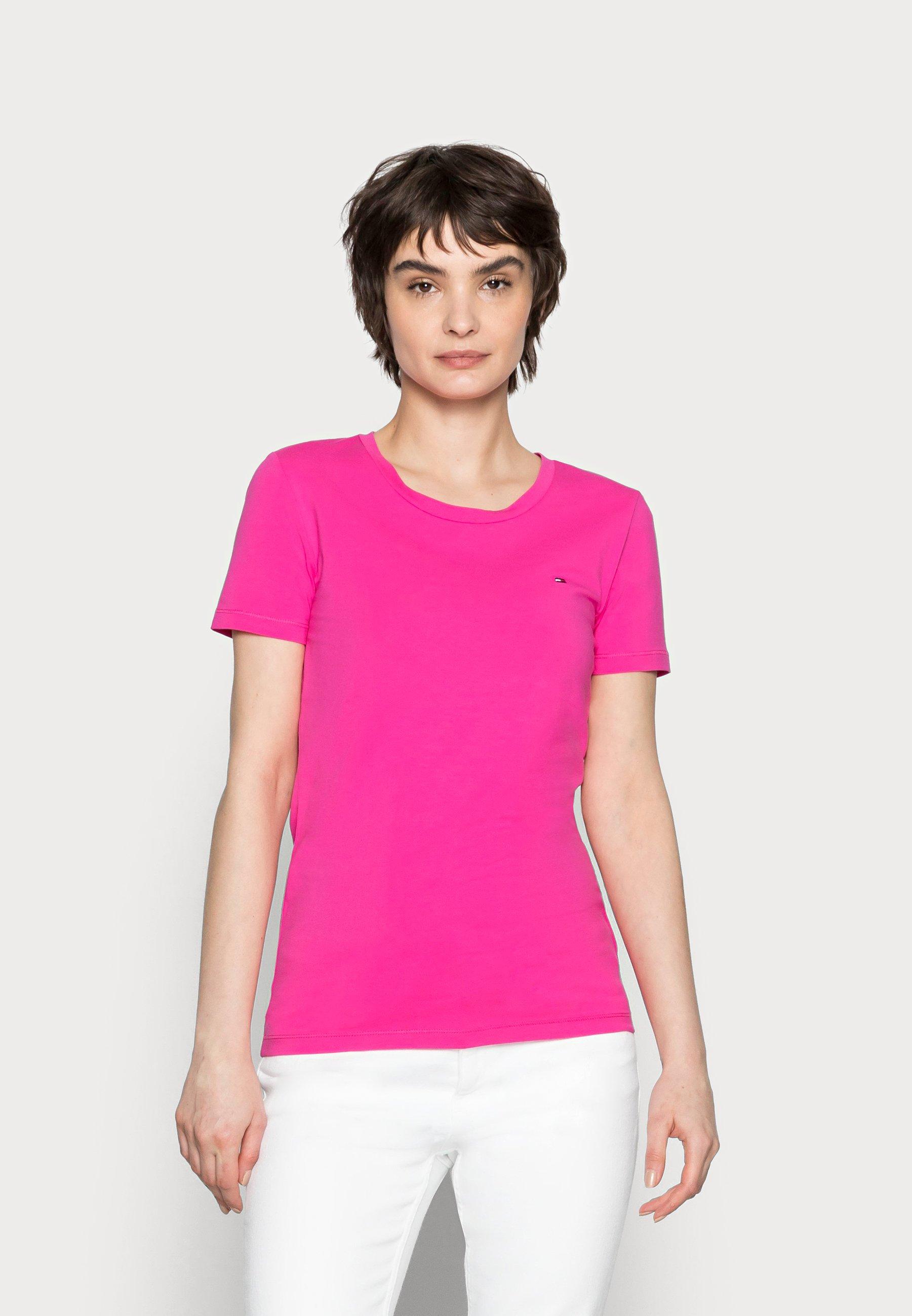 Mujer COOL SOLID ROUND - Camiseta básica
