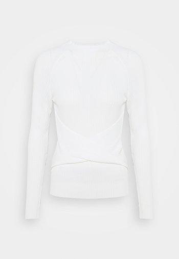 SHADETTA - Pitkähihainen paita - natural