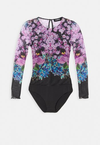 BODY DESIGNED BY MR. CHRISTIAN LACROIX - Long sleeved top - multi-coloured
